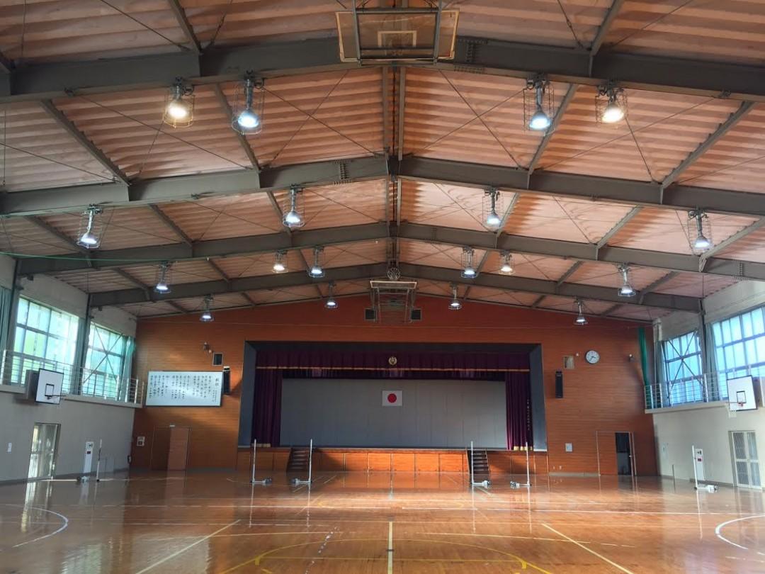 学校体育館・講堂設置事例