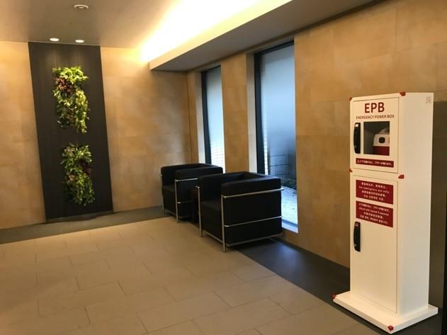 【企業】みずほリース株式会社 様「EPB(防災タワー)」を導入