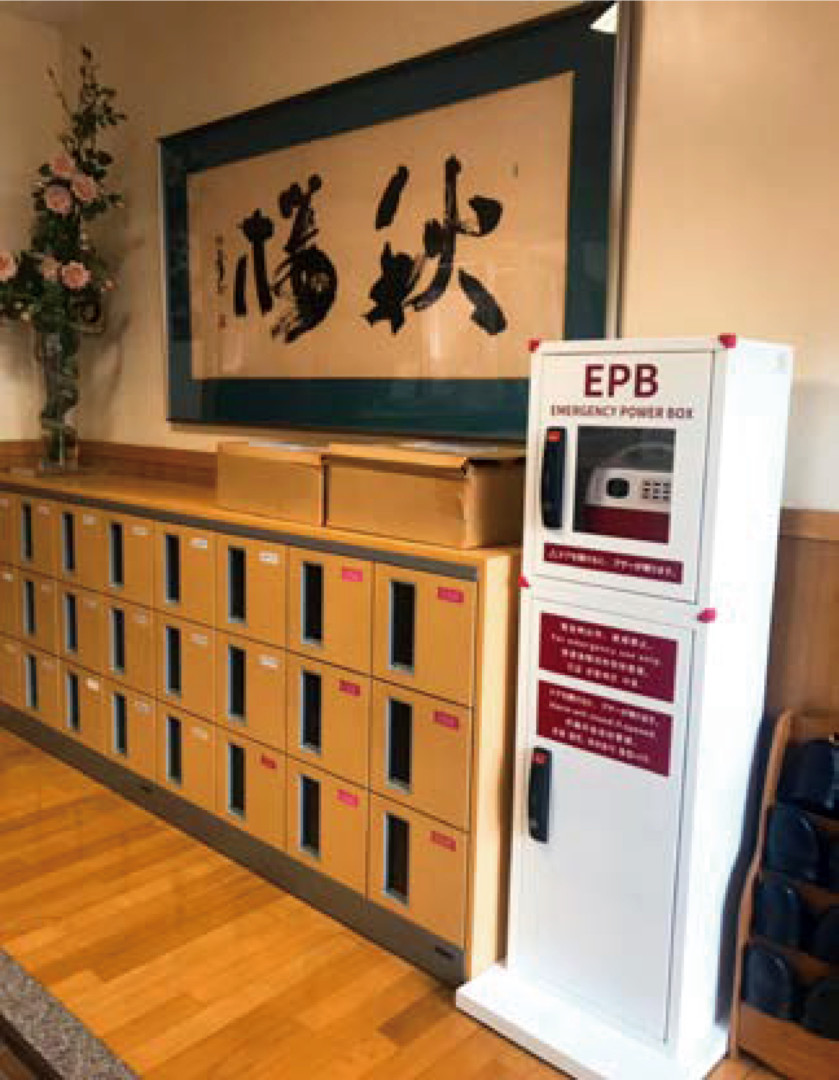 【学校】日本大学富山女子 中学校・高等学校 様「EPB(防災タワー)」を導入